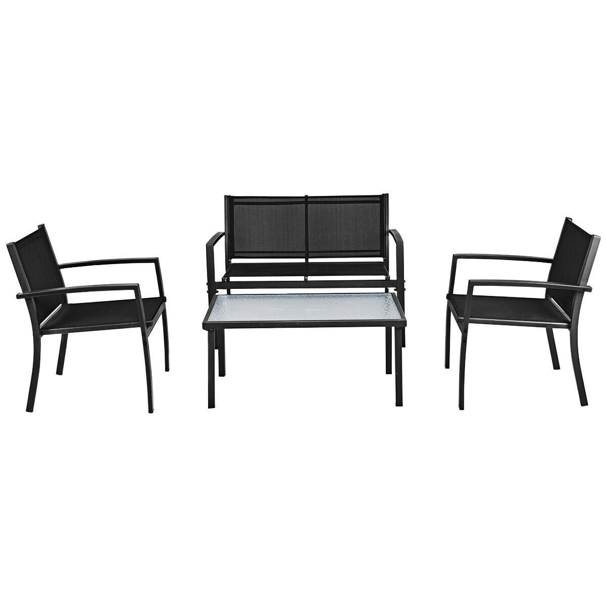 Patio Furniture Set Sofa Coffee Table