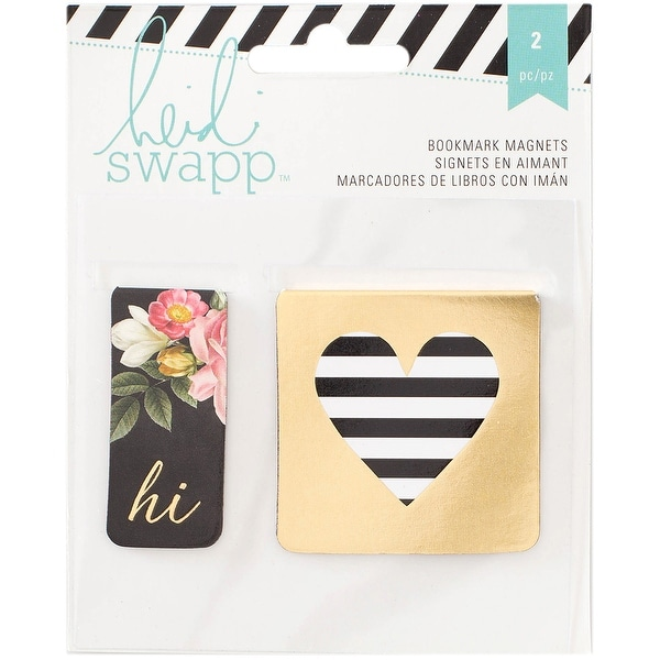 Heidi Swapp Memory Planner Bookmark Magnets 2/Pkg-