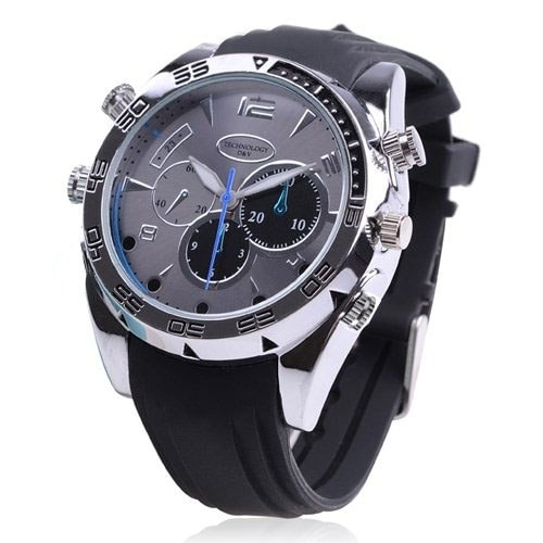 Spytec 1080P Hd Water-Resistant Spy Watch With Night Vision & 120 Minutes Battery Life