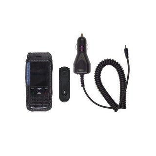 Starter Kit Car Charger & Leather Case for Nokia 5310