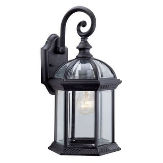 "DVI Lighting OCA140800 1 Light 8"" Wide Outdoor Wall Sconce from the Hexagon Collection"