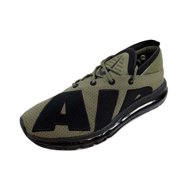 73e6f6c9e0 ... Men's Athletic Shoes. Nike Men's Air Max Flair Medium  Olive/Black-Wolf Grey