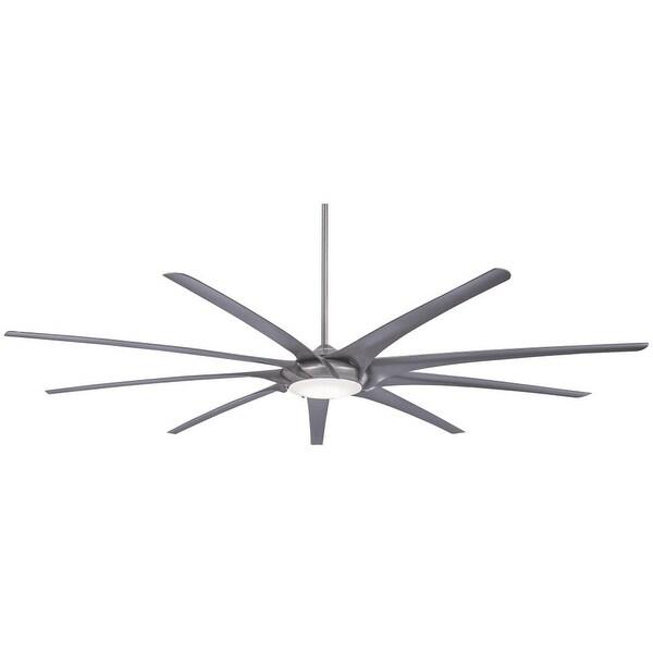 "MinkaAire Ninety-Nine 99"" 9 Blade Ninety Nine Indoor Ceiling Fan with Integrated"