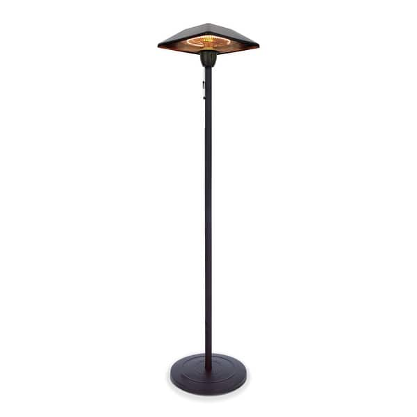 Star Patio Electric Patio Heater Freestanding Electric Outdoor Heater Infrared Heater Portable Heater 16 9 16 9 78 7 Overstock 32166628