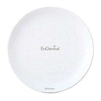 Engenius Enstationac Outdoor Long-Range 11Ac Access Point/Wireless Bridge, White