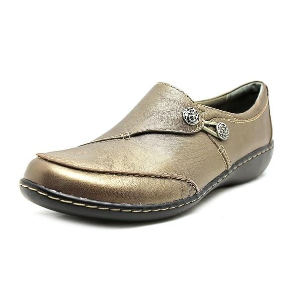 Clarks Narrative Ashland Lane Q Round Toe Leather Loafer