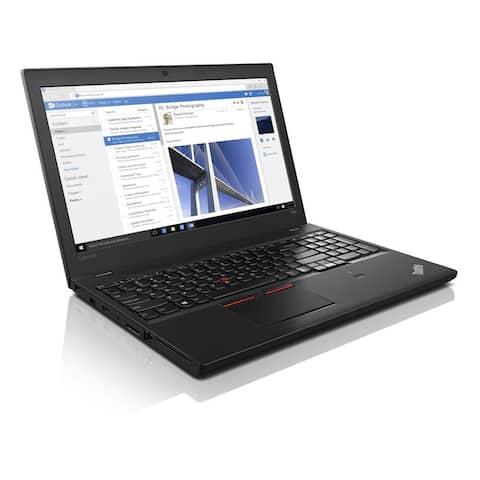 Refurbished Lenovo ThinkPad 15.6in T560 i7-6600U 8GB 512 GB W10P
