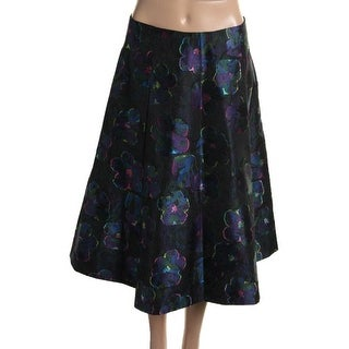 Kate Spade Womens Brocade Floral Print A-Line Skirt - 2