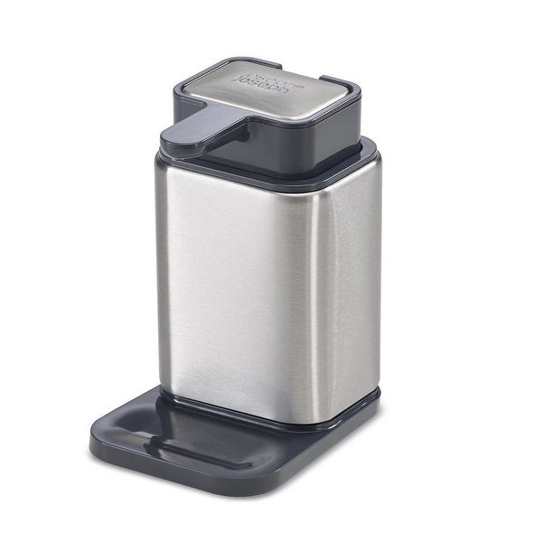 Joseph Joseph Surface Soap Dispenser Stainless Steel Soap Pump and ...