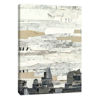 """PTM Images 9-108529  PTM Canvas Collection 10"""" x 8"""" - """"Linear Progression 4"""" Giclee Abstract Art Print on Canvas"""