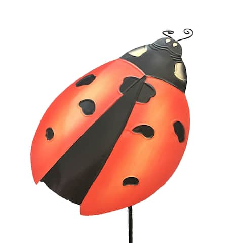 Handmade Lady Bug Garden Decoration - 1 x 6 x 24