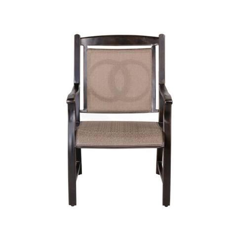 Moda Outdoor Aluminum Dining Chair 4PCS/SET