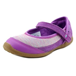Stride Rite M2P Terry Round Toe Canvas Mary Janes