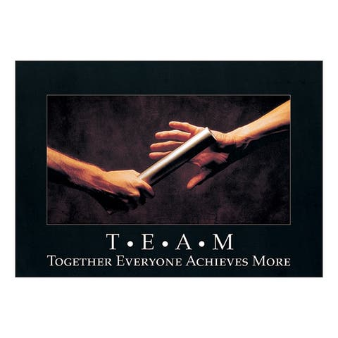 Argus poster t.e.a.m. together everyone 62680