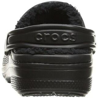 Crocs Girls Winter Faux Fur Lined Clogs