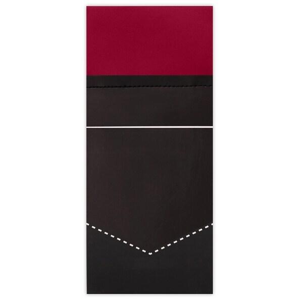 Jacob Alexander Men/'s Pre-Folded Rectangular Pocket Square Handkerchief