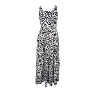 American Living Women's V-Neck Maxi Dress