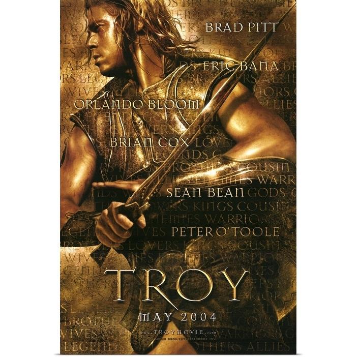 Shop Black Friday Deals On Troy 2004 Poster Print Overstock 24131921