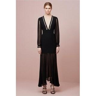 Keepsake the Company Two Minds Black Maxi Dress