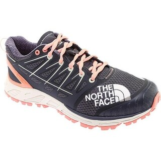 The North Face Women's Ultra Endurance II Trail Running Shoe Blackened Pearl/Desert Flower Orange