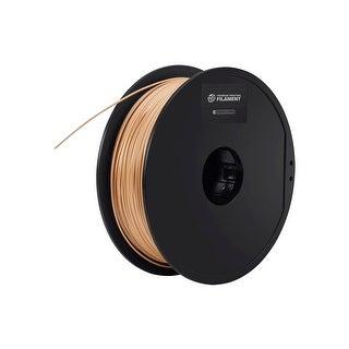 Monoprice Premium 3D Printer Filament PLA 1.75MM .5kg/spool Wood