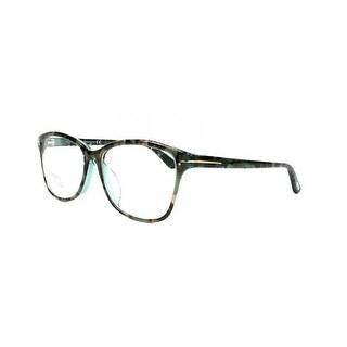 Tom Ford FT5404-F-56A Optics Unisex Eyeglasses Blue Brown Mix Frames - Blue/Brown