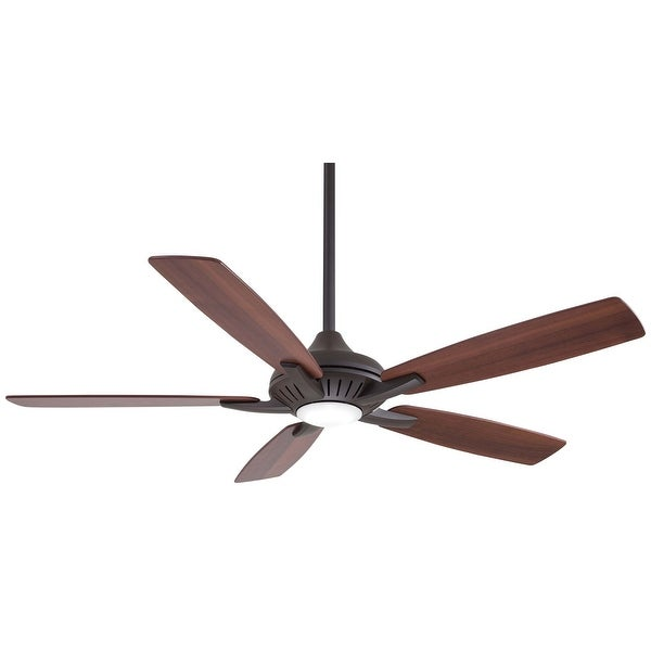 Shop Minkaaire Dyno Dyno 52 Quot 5 Blade Indoor Led Ceiling Fan With Remote Included Free Shipping