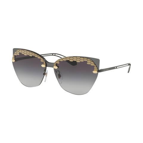 Bvlgari BV6107 20478G 62 Grey Woman Irregular Sunglasses