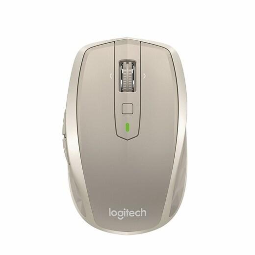 Logitech Darkfield 910-004968 Laser Wireless Scroll Wheel Mobile Mouse,  Stone (Mx Anywhere 2)