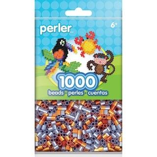 Perler Beads 1,000/Pkg-Metallic Mix