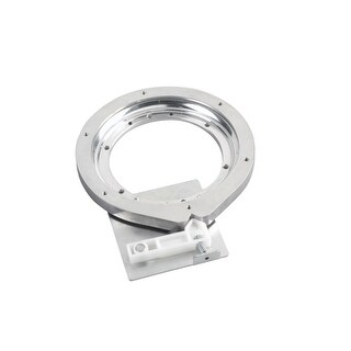 Rev-A-Shelf 4BS-7-1 Wood Classic Series 7 Inch Lazy Susan Bearing with Stop - Aluminum