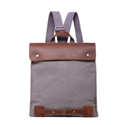 TSD Brand Canvas Cooper Backpack