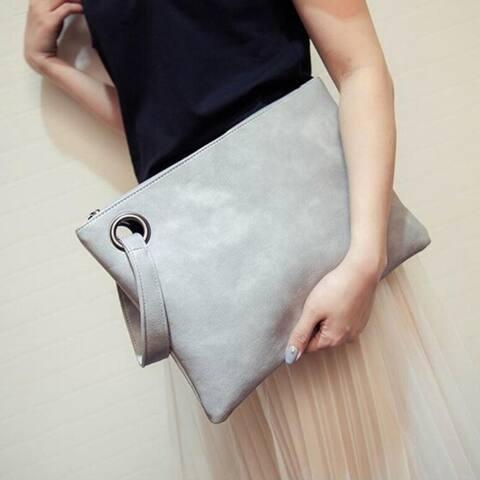Retro Fashion Women's Large-Capacity Clutch Bag