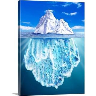 """iceberg"" Canvas Wall Art"