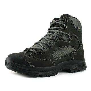 Hanwag Banks Gtx Men  Round Toe Leather Gray Hiking Boot