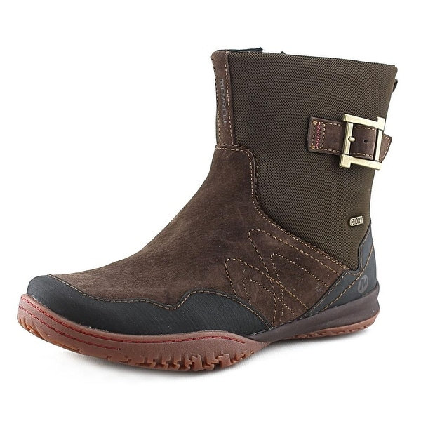 Merrell Albany Sky Round Toe Suede Ankle Boot