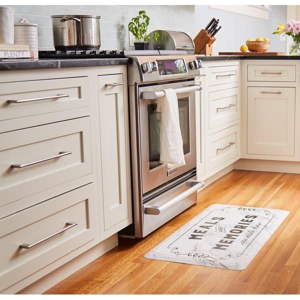 Shop Cat Cora Gentle Step Kitchen Mat 19 6 X39 3 Overstock 31288798