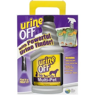 Urine Off MR1036 Pets Urine Stain Remover, Premium Stain and Odor Technology, Multi-Pet 16-Ounce Bottle