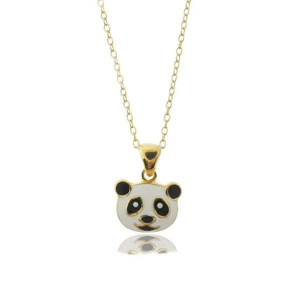 Lily Nily Girl's Panda Bear Pendant