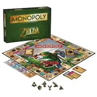 Monopoly Legend Of Zelda Collector's Edition Boardgame - multi