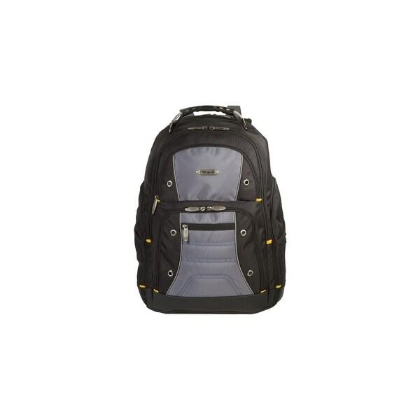 """Targus TSB238US Targus Drifter TSB238US Carrying Case (Backpack) for 16"""" Notebook - Black, Gray - Water Resistant - Nylon -"""