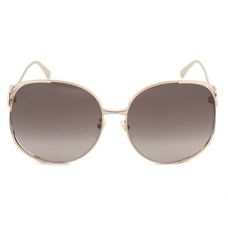 Link to Gucci Oversized Sunglasses GG0225S 002 63 - 63mm x 17mm x 130mm Similar Items in Women's Sunglasses