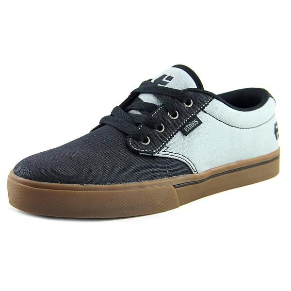 Etnies Jameson 2 Men Round Toe Suede Black Skate Shoe