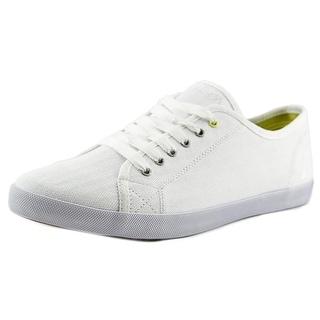 Nautica Casual Laceup Women Round Toe Canvas White Fashion Sneakers