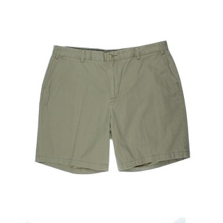 Nautica Mens Big & Tall Cotton Classic Fit Khaki, Chino Shorts