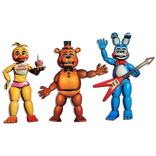 """Five Nights At Freddy's 20"""" Jointed Character Cutouts: Freddy, Bonnie, Chica"""