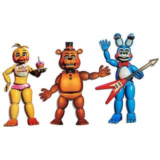 "Five Nights At Freddy's 20"" Jointed Character Cutouts: Freddy, Bonnie, Chica"