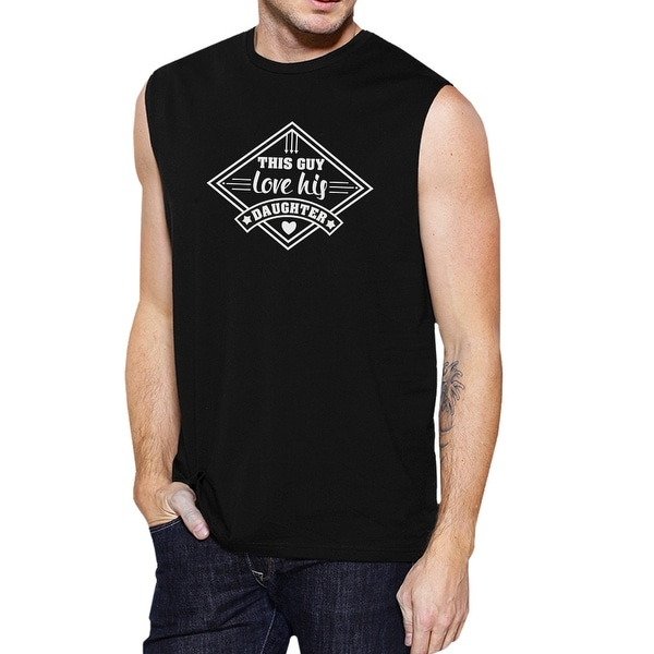 This Guy Love His Daughter Mens Tank Top Perfect Gifts For New Dad