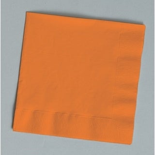 Touch of Color 150 Count Luncheon Napkins Sun Kissed Orange