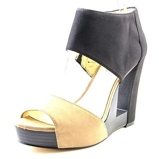 BCBGeneration Nigella Women Open Toe Synthetic Platform Sandal